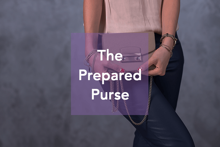 The prepared purse emergency kit list